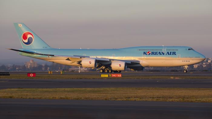 Korean Air set to be the first operator of Boeing 747-8I to